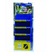 Quality 4 Tier Full Color / Pantone Printing Cardboard Floor Displays For Supermarket Promotion for sale