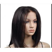 Quality Natural black 8-30 Inch Lace Front Human Hair Wigs Malaysia Hair Wigs for sale
