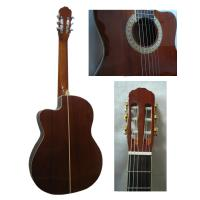 "Quality 39"" Cutaway Whole Sapele Wood Classical Guitar Nylon String Guitar CG3923C for sale"