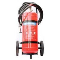 Buy cheap Safe ABC Powder Fire Extinguisher , Hospital 50Kg Trolley Foam Fire Extinguisher from wholesalers