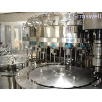 Buy Automatic Bottled Beer Filling Machine , 500BPH - 8000BPH Glass Bottle Filling Machines at wholesale prices
