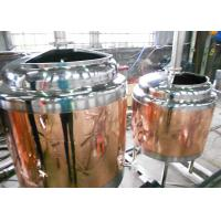 Buy Mini Home Brew Equipment Flat Bottom , Stainless Steel Brewing System at wholesale prices