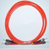 Buy cheap ST-ST MM 50/125 Duplex 2.0MM 1M Fiber Optic Patch Cable from wholesalers