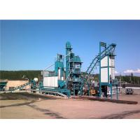 Quality 1000KG Mixer Capacity Mobile Asphalt Batch Mixing Plant 80th Output for sale