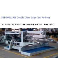 Quality Glass Double Edger Glass Processing Equipment / Glass Processing Plant for sale