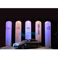 Quality Inflatable LED Light Column / Lighting Inflatable Pillar For Decoration for sale