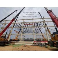 Quality Warehouse Prefab Steel Structures Bolt Connect Fast Construction Energy Conversing for sale