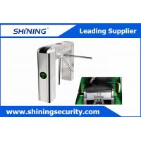 Quality Intelligent Tripod Turnstile Barrier GateWith Voice Prompt And Display Screen for sale