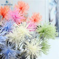 China 78cm Artificial Silk Flower Bouquets Sea Urchin For Home Decoration on sale