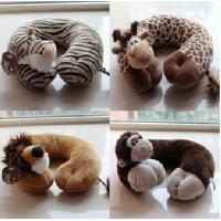 "Quality Animals-""U"" shaped Plush neck pillows for sale"