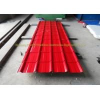 Quality Sound Insulation Corrugated Metal Roofing Colour Coated Steel Roofing Sheets for sale
