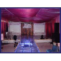 Quality Used Portable Stage With 18mm Thickness Glass Board for sale