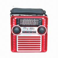 Quality Multifunction Radio with USB/SD and Rechargeable Battery for sale