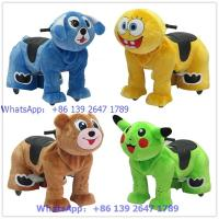 Quality hot selling electrice animal rides scooter with battery for sale