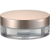 Quality JL-PC108 Round Powder Cosmetic 5g ABS Empty Eyeshadow Compact for sale