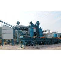 Quality 2 Aggregate Hoppers Asphalt Recycling Equipment , Asphalt Drum Mixing Plant Ebico Burner for sale