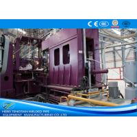Quality HRC Material Welded Tube Mill , Stainless Steel Pipe Welding Machine ISO9001 for sale