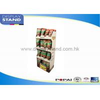 Buy cheap Promotion Bumpingproof Pop Cardboard Displays SGS / ISO For Supermarket from wholesalers