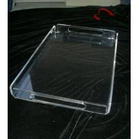 Quality Custom Size Acrylic Room Service Tray for sale