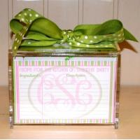 Buy cheap Hot Sale!!! Factory Handmade Manufacturing Acrylic Clear Recipe Card Box for 4x6 from wholesalers