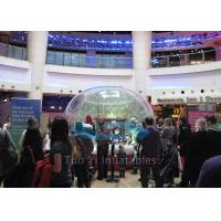 Quality Diameter 1.5m - 8m Fashion Inflatable Snow Globe Bubble Dome for Advertising for sale