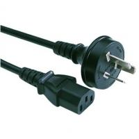 Quality 3 Pin IEC C13 Appliance Power Cord 10 Amp Australia AS 3112 H05VV - F for sale
