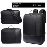 Quality Multi Function Nylon Business Laptop Backpack 3 In 1 For Working Professionals  for sale