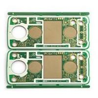 Buy cheap Multi 4 Layer Boards PCB Parts FR4 Aluminum base Gold Fingers OSP Priented Circuit board from wholesalers