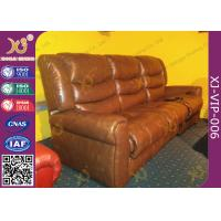 Quality Environment Friendly Home Theater Sofa Electric Reclining Chairs With Bottle Holder for sale