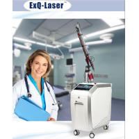 Quality Q Switched Nd Yag Laser Pigmentation Removal Machine With 7 Articular Diaphragm Arm for sale