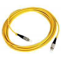 Quality FC Fiber Optic Patch Cord Low insertion loss high return loss for sale