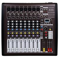 Quality 8 channel Professional Audio Mixer  with DSP I08 , Portable Power Mixer for sale