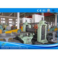 Quality SKD11 Blade Steel Slitting Equipment Mill Speed 50m / Min 250KW Power 440V for sale