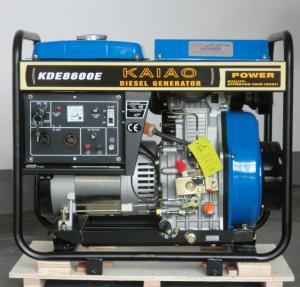 Quality 6KW Diesel Generator Set  model KDE8600E KAIAO brand for sale