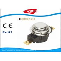 Quality UL TUV Bimetal Snap Disc Thermostat KSD302 For Thermal Protecter Temperature Limiter for sale