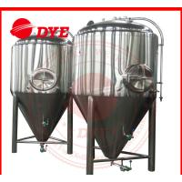 Quality 1000L Automatic Conical Beer Fermenter , Micro Beer Brewing Equipment for sale