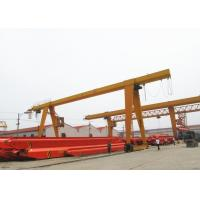 Quality 100 Ton Single Beam A Frame Gantry Crane With Strong Winch For Warehouse / Railway for sale