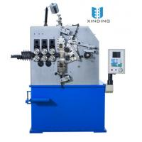 China Blue Three Axis Automatic Spring Coiling Machine With Pitch Servo Motor 1.5 Kw on sale