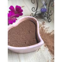 Quality Dark Brown Healthy Cocoa Powder AF02 , Unsweetened Cocoa Powder 10-12% Free Flowing for sale