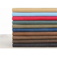 Quality 12OZ Washed Cotton Fabric Different Shades Color For Mountaineering Bag for sale
