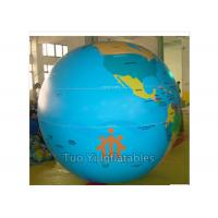 Quality Giant Full Digital Printing Inflatable World Globe For Science Exhibition for sale