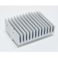 Quality Anodized Aluminium Heatsink Extrusion Profiles With Finished Machining for sale