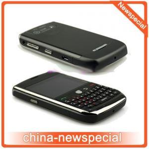 Quality Blackberry 8900 1:1 clone WIFI JAVA TV Quadband dual sim dual came mobile phone/cellphone for sale