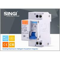 Quality Residual current operated Miniature circuit breakers RCBO DZ30LE 1pole for sale