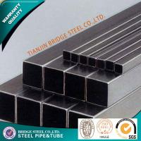 Quality ASTM A53 Square Steel Pipe , BS JIS GB ASME Rectangular Steel Tubing for sale