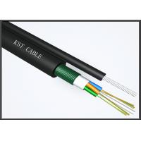Quality Multimode Overhead Fiber Optic Cable Multitube Fiber Optic Single Mode Cable for sale