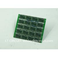 Buy Four Layer Multilayer Printed Circuit Custom Pcb Board 0.8MM Green Solder Mask at wholesale prices