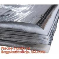 China Fire Retardant Thermal Reflective Attic Insulation Aluminum Foil Insulations Roofing Wall on sale
