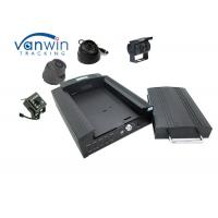 Quality School Bus People Counter Hard Disk CCTV Mobile DVR GPS 4 Channels Recording for sale