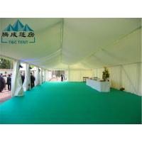 Buy cheap PVC Fabric / Oxford / Canvas Double Coated PVC Waterproof Canopy Tent For Wedding from wholesalers